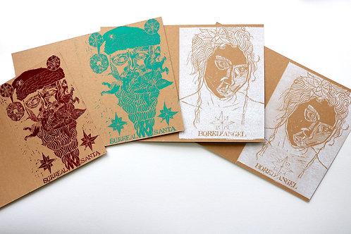 Christmas Cards Bundle I - Brown Pack