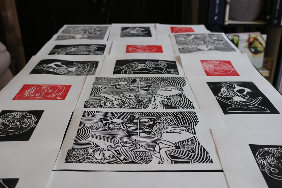 Moatzart Original Linocut Prints 6.JPG