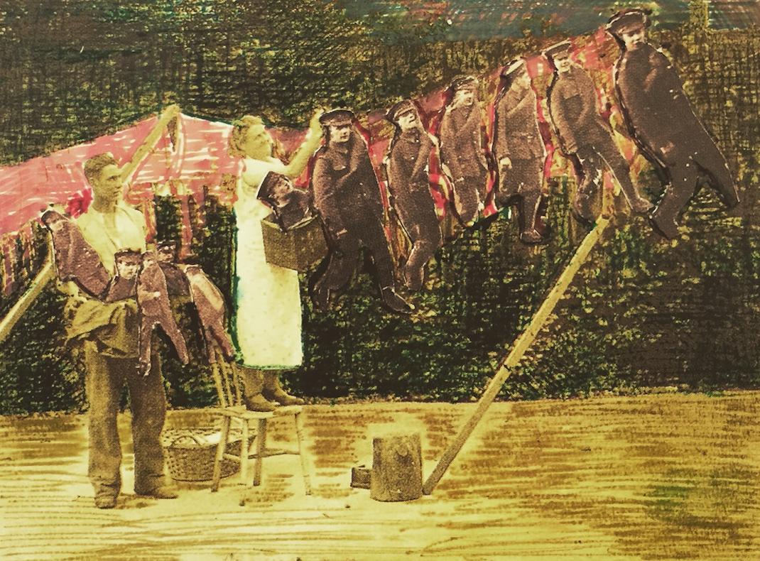 Woman doing chores MOATZART Family Photos
