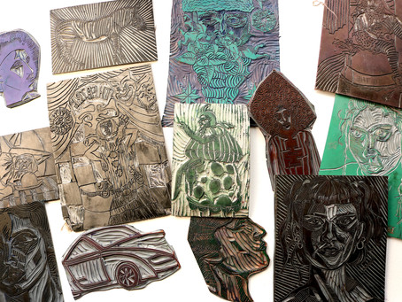 Linocut printmaking - which is the best lino to use? Beginner friendly