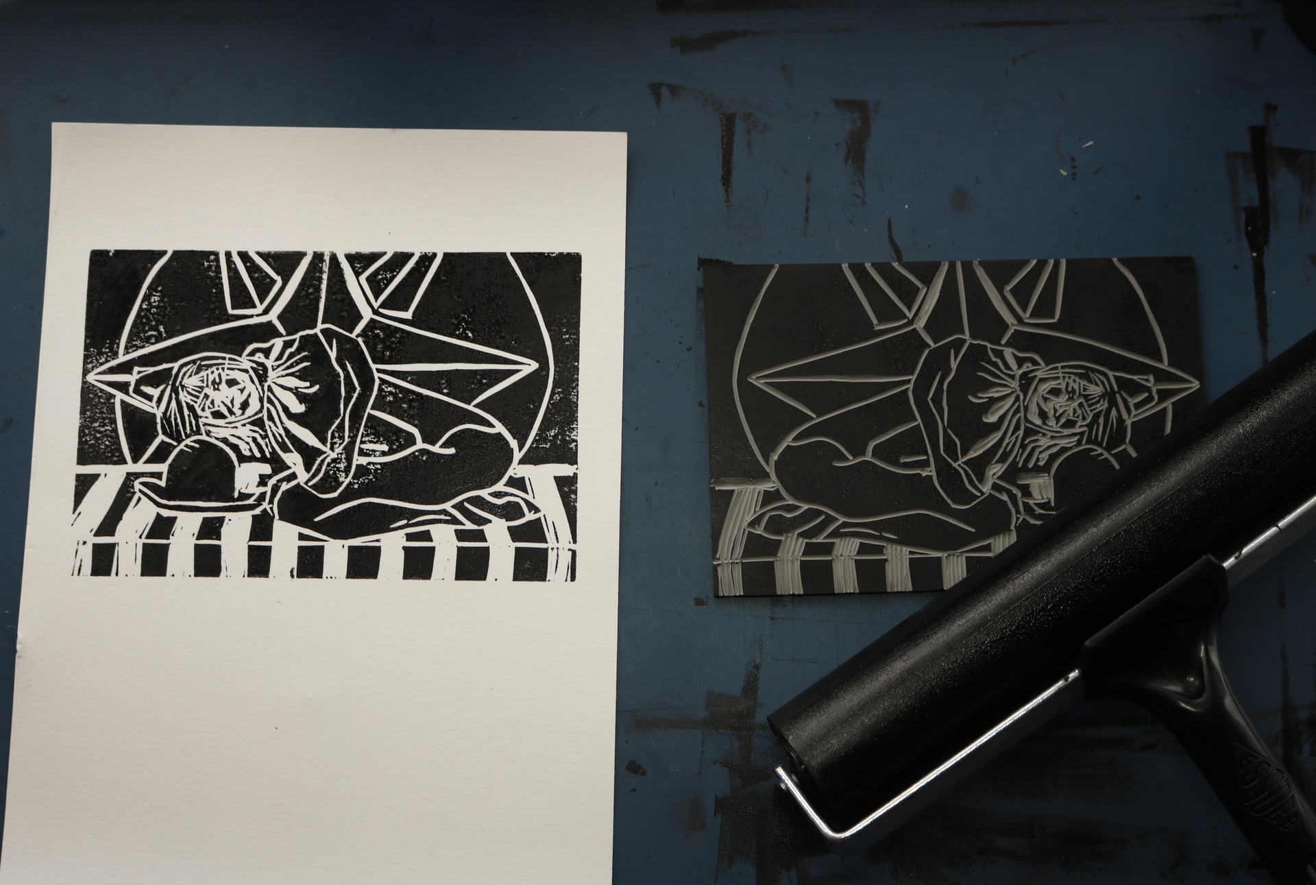 Moatzart Original Linocut Prints876.JPG
