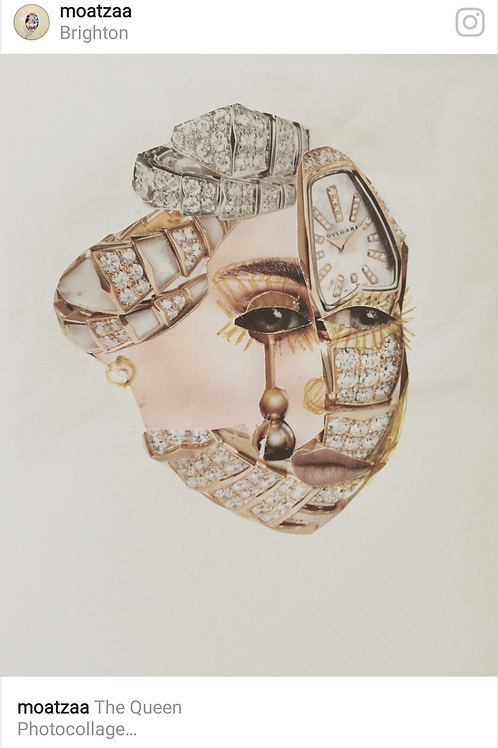 Queen I Photograph print - signed