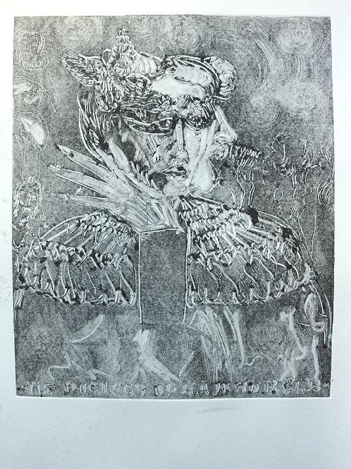 The Duchess of Hamburger Second Print