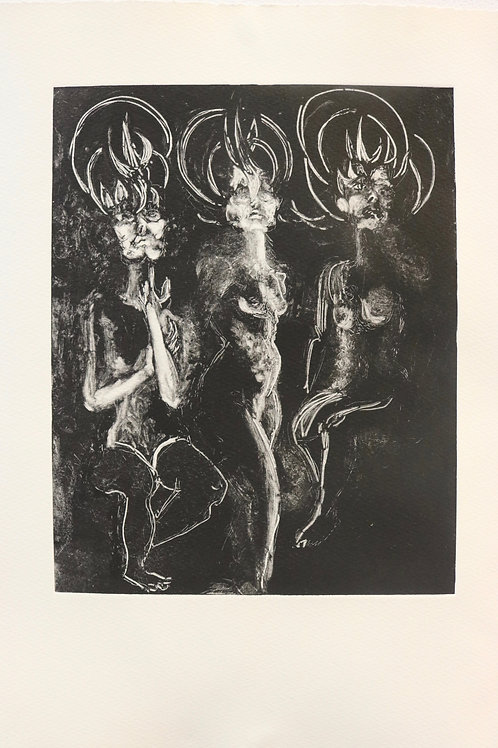 The Three Graces Photograph print - signed