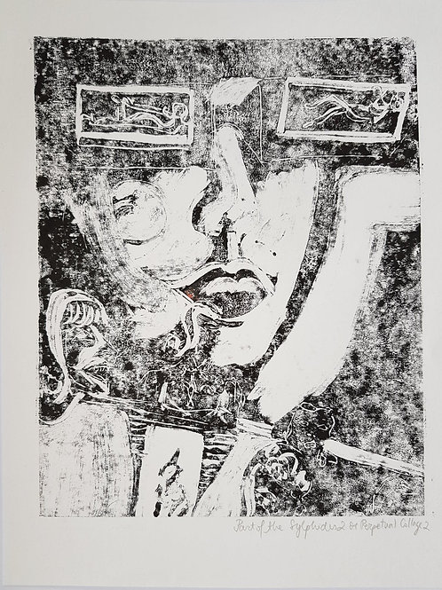 The Sylphides II.2 Original Second Print of Monotype