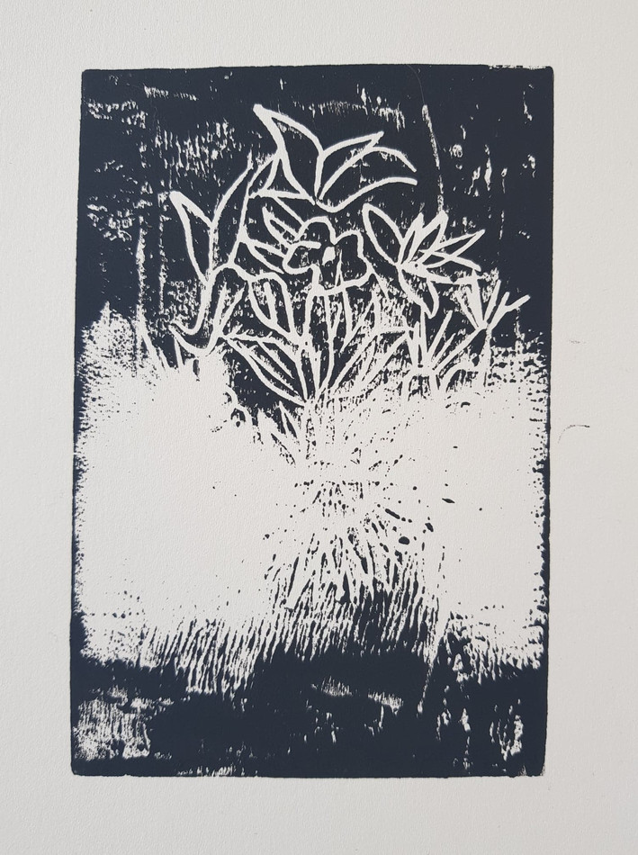Print with your feet MOATZART Terrestrial Paradise