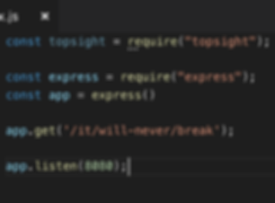 Topsight NPM Package