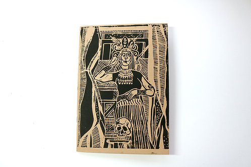 A5 Kraft Sketchbook The Enchantress