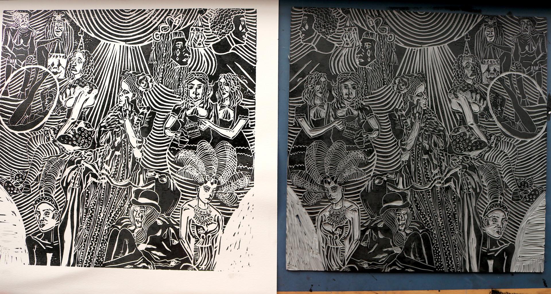 Moatzart Original Linocut Prints5.JPG