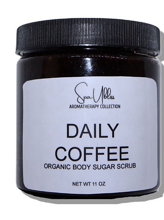 Daily Coffee Organic Sugar Scrub