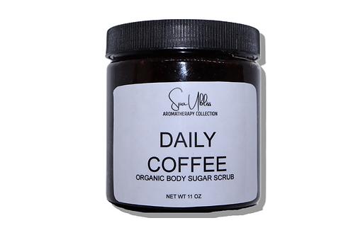 Daily Coffee Organic Sugar Scrub