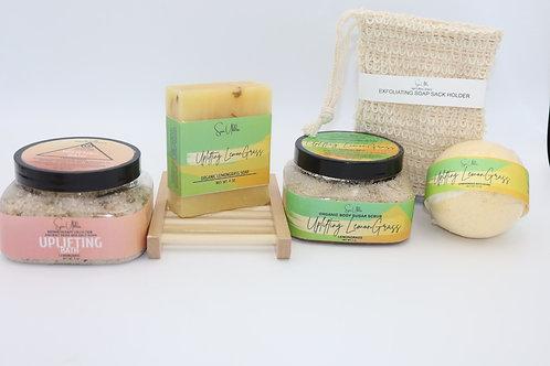 Uplifting Lemongrass Spa Kit