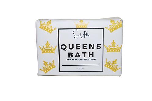 Queens Bath Donkeys Milk Unscented