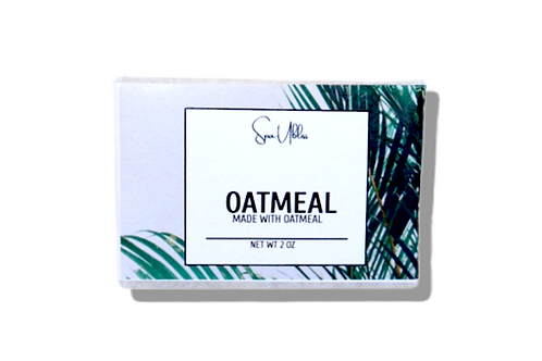 Unscented Oatmeal Goats Milk Soap