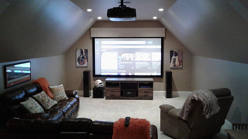 home theater install brentwood tn