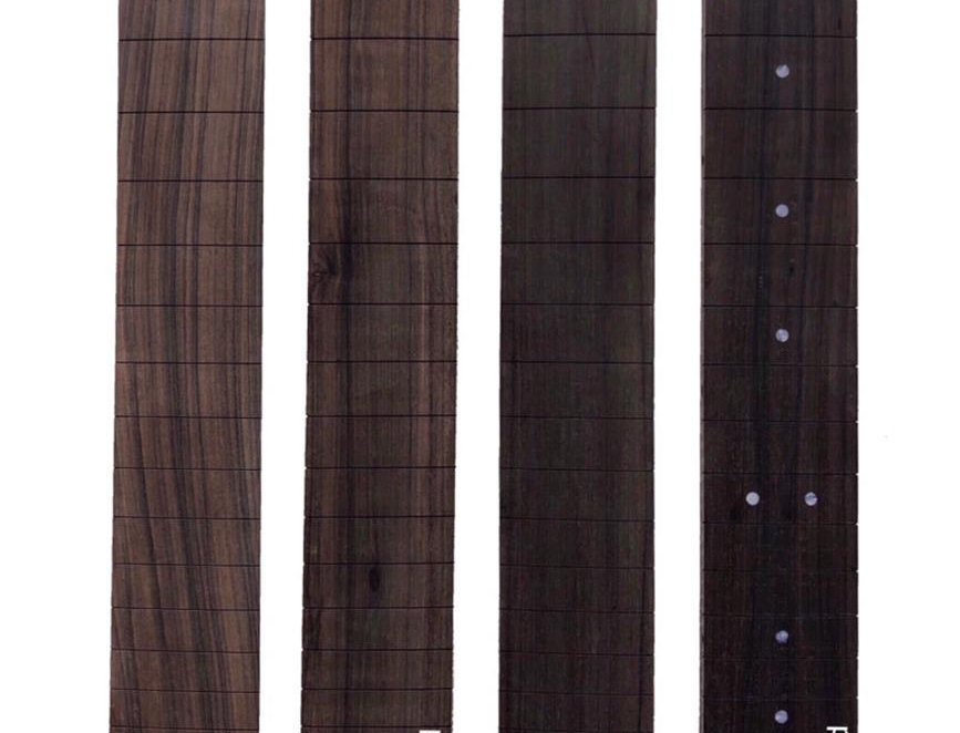 Fingerboard, TW Bolivian Rosewood , 25,5 R 12, 1st grade, guitar