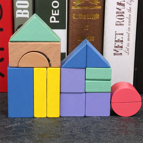 Mini bloques con tarjetas