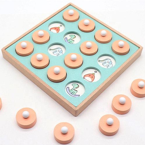 Caja de memoria montessori