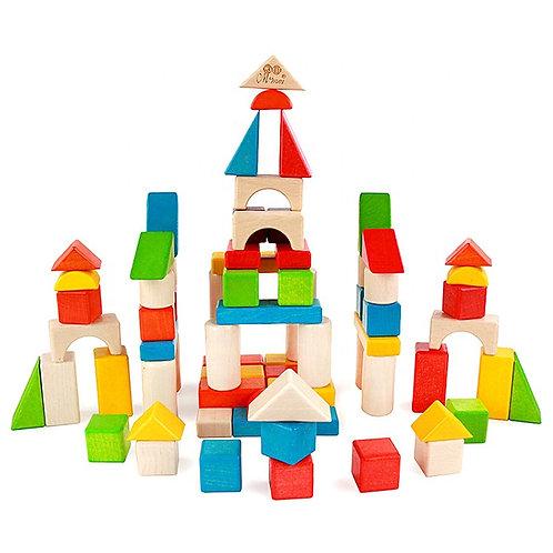 Bloques de construcción 56 piezas