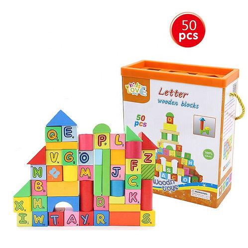 Bloques de construcción 50 piezas