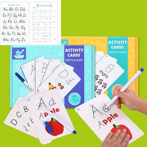 Activity cards letras y palabras