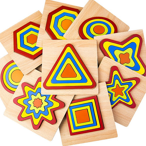 Rompecabezas figuras geométricas