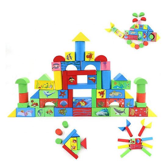 Bloques de construcción 68 piezas