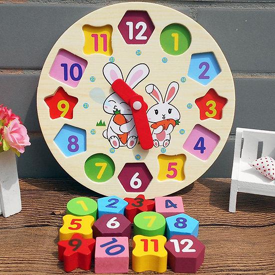 Reloj montessori