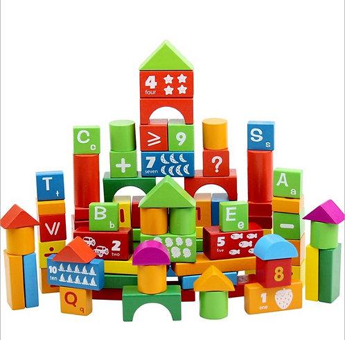 Bloques de construcción 100 piezas
