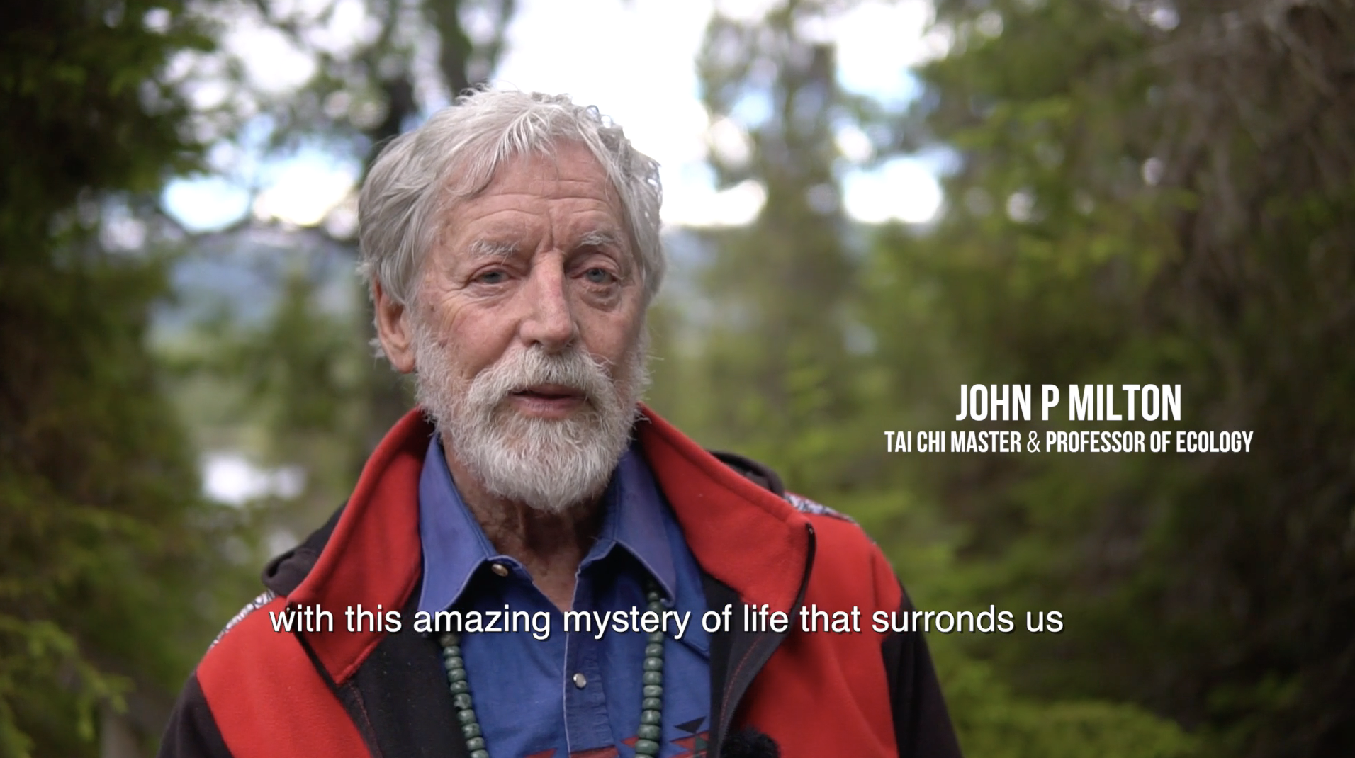Prof. John P. Milton about re-connecting with nature