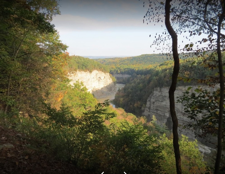 Letchworth State Park great bend