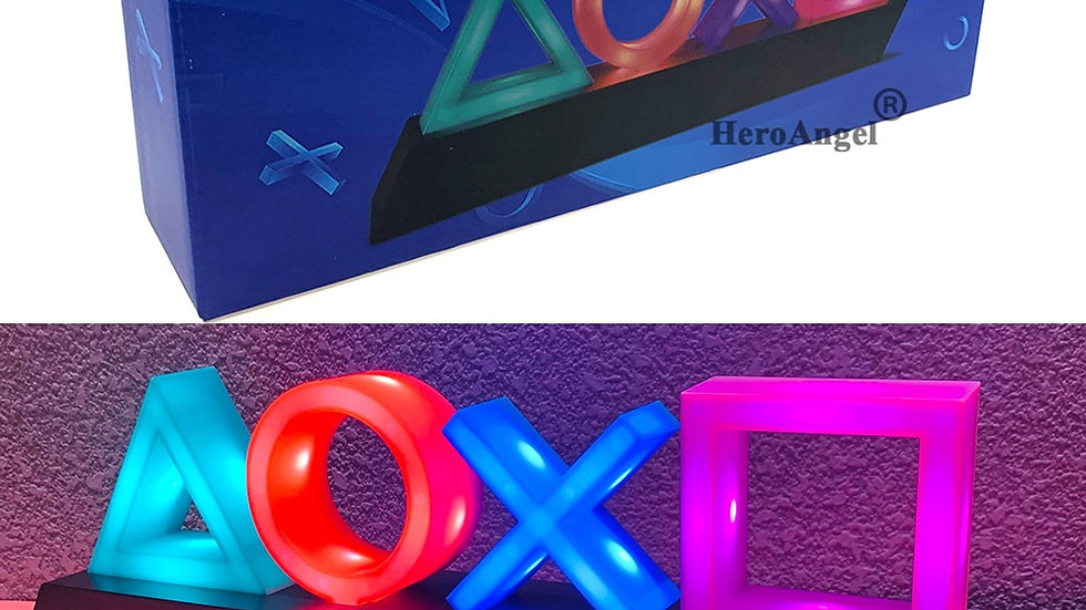 2020 New Replacement Game Icon Lamp Voice Control Light