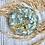 Thumbnail: Business Card Holder - Blue Hydrangea
