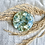 Thumbnail: Tea Light Candle Holder- Blue Hydrangea