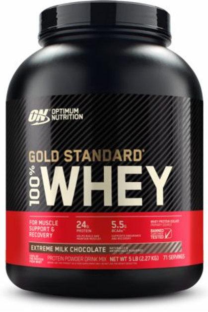Optimum Nutrition 100% Whey Gold Standard 5 Lbs