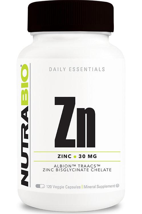 Nutrabio Zinc 30mg