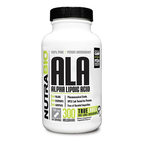 NutraBio Alpha Lipoic Acid