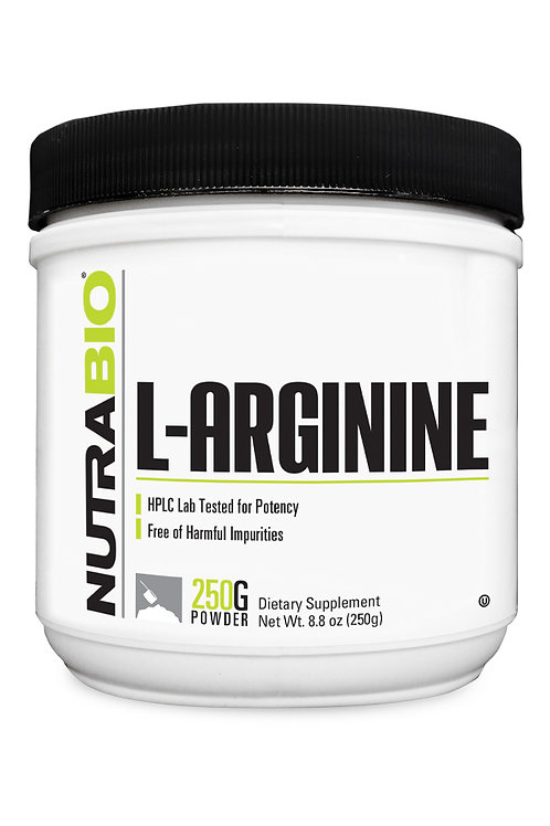 Nutrabio Arginine Powder 250 Grams