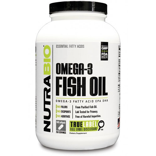 NutraBio Fish Oil 150 cap