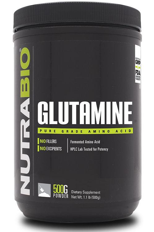 Nutrabio Glutamine (500 Grams)