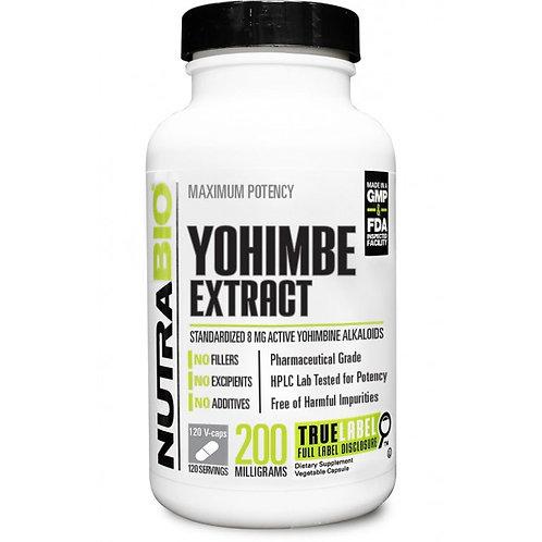 NutraBio Yohimbine Extract