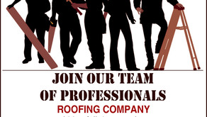 Help Wanted - Roofing Company