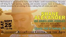 ARCA Presents - Shane Alexander - Sept.25th