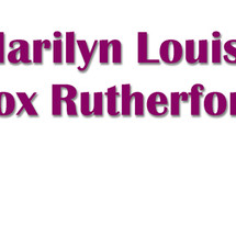 Marilyn Louise Fox Rutherford