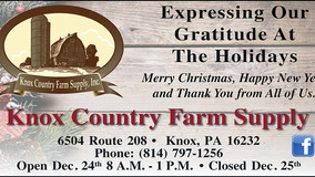 Knox Country Farm Supply - Expressing Our Gratitude at the Holiday