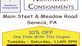 Northwest Consignments -  10% Off Coupon