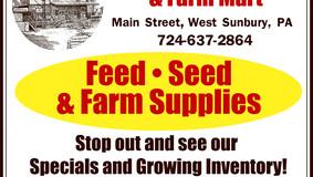 Zanella Milling & Farm Mart - West Sunbury, PA