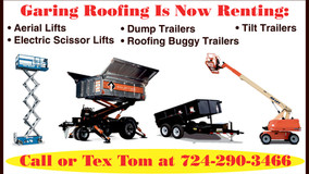 Garing Roofing Is Now Renting