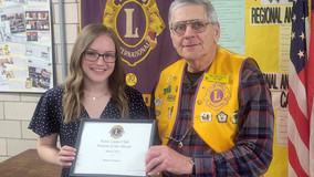 Knox Lions Student of  The Month Selected