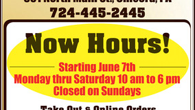 Chicora SubWay - Take Out & Order Online - Now Hiring - New Hours